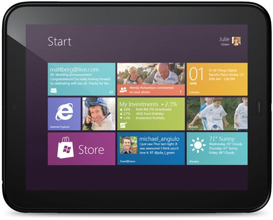 Windows 8 on an HP TouchPad