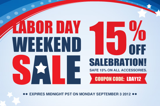 Labor Day Weekend Sale: Save 15% on ALL webOS Accessories at the webOS Nation St