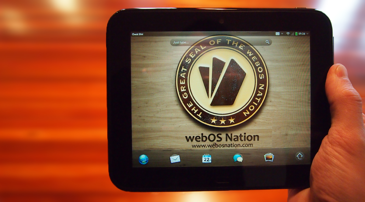 2012 Unreleased webOS Device of the Year Winner: HP TouchPad Go
